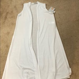 LulaRoe White Joy